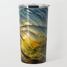 Sunset Barrel ~ Newport Beach Travel Mug