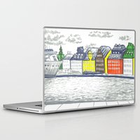 stockholm Laptop & iPad Skins featuring Stockholm Syndrome by Hannah Cone