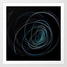 Round light Art Print