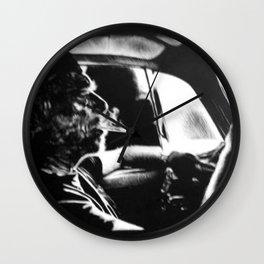 Bukowski's Sunday Drive Wall Clock