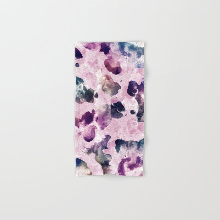 Ink Blooms Hand & Bath Towel