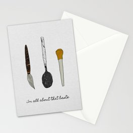 I'm All About That Baste, Humorous Quote Stationery Cards
