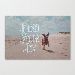 Vizsla Joy Canvas Print