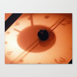 Clock at Washin Canvas Print