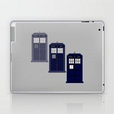 The Materializing TARDIS Laptop & iPad Skin