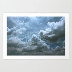 Wonder Cloud Art Print