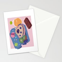 What's in my Lunchbox Stationery Cards