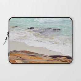 Tidal Turquoise Laptop Sleeve