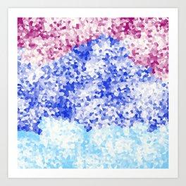 Snowed in bold Art Print