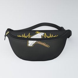 Cockatoo Heartbeat For A Parrot Lover product Fanny Pack