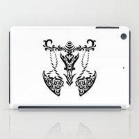 libra iPad Cases featuring Libra by Mario Sayavedra