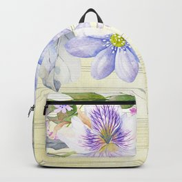 Flowers bouquet 69 Backpack