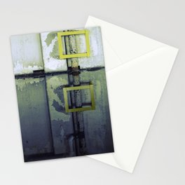 A Yellow Square Stationery Cards