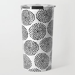 Minipunkte 001 / Elegant Mid-Century Modern Style Pattern Travel Mug