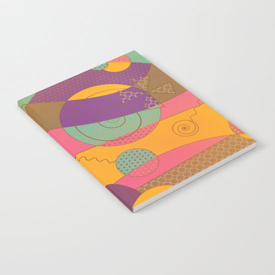 Abstract pattern - Chocolate Candy Notebook