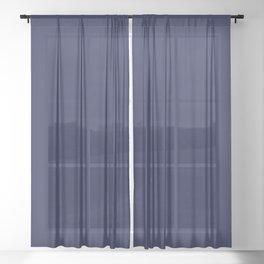 2021 Color: Ultra Blue Moon Sheer Curtain