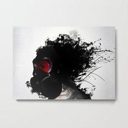 Ghost Warrior Metal Print