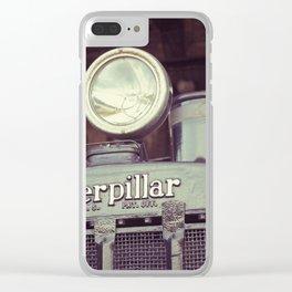 Caterpillar Clear iPhone Case