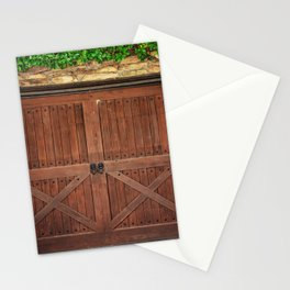 Door and Ivy Backdrop Stationery Cards