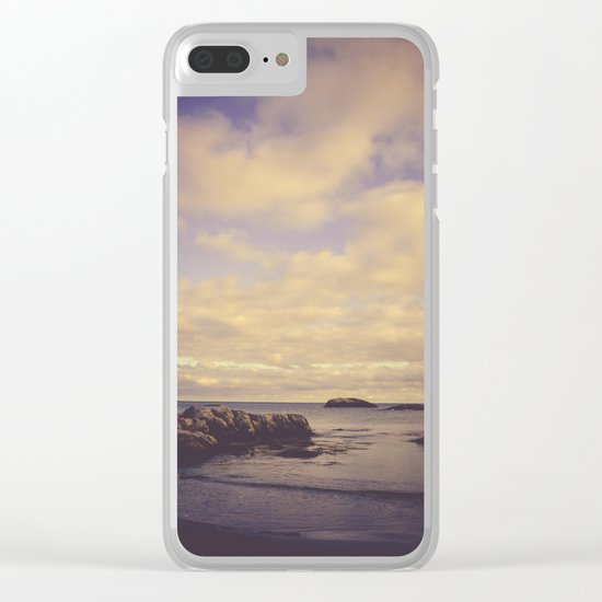 Her Dreams Stretched as Far as the Sea Was Wide Clear iPhone Case