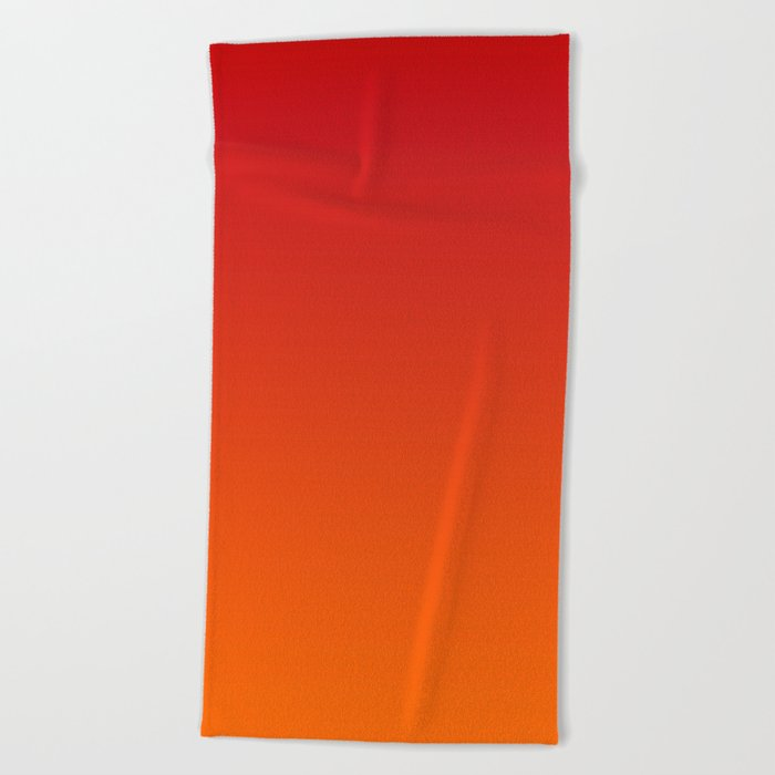 Sunset Ombre Beach Towel