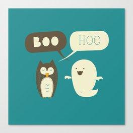 Boo Hoo Canvas Print