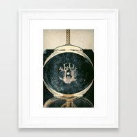 astronaut Framed Art Prints featuring astronaut by Shawn Tegtmeier
