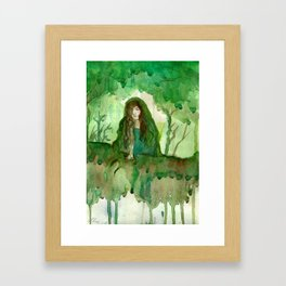 Akka The Earth Goddess Framed Art Print