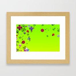 The Social World Framed Art Print