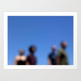 FourHeads Art Print