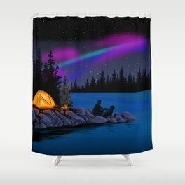 Camping Scenic Shower Curtain