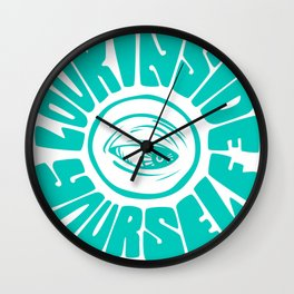 Look Inside Yourself Wall Clock