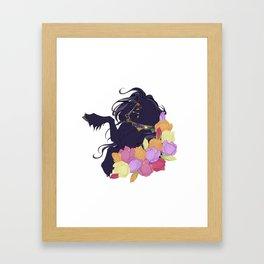 Teake Framed Art Print