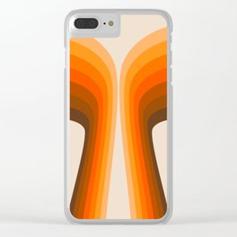 Golden Wing Clear iPhone Case