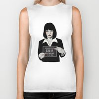 mia wallace Biker Tanks featuring Mia by Sofia Bonati