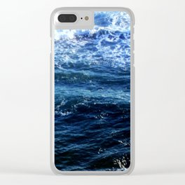 Our Oceans Clear iPhone Case
