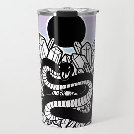 Crystal Moon Serpent Travel Mug