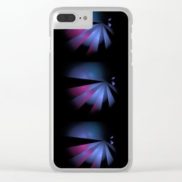 Fantasy birds Clear iPhone Case