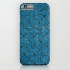 Overdyed Rug 1 Aqua iPhone 6 Slim Case