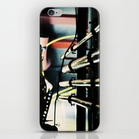 industrial iPhone & iPod Skins featuring Industrial by Nina Saunders