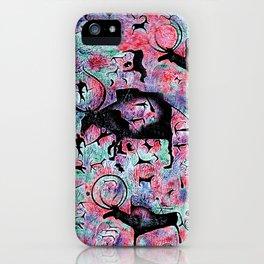 Black Buffalo  iPhone Case