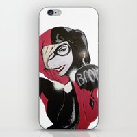 harley iPhone & iPod Skins featuring Harley by John Pocopanni