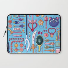 Magical Arsenal Blue Laptop Sleeve