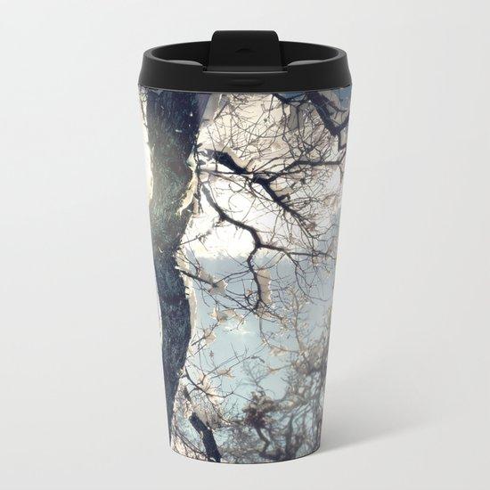 Morning Frost Metal Travel Mug