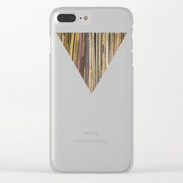 Records Clear iPhone Case