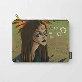 EYES MADE OF SKY Carry-All Pouch