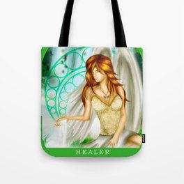 Wings Of Faith : Healer Tote Bag