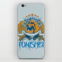 punisher iPhone & iPod Skins featuring Punisher by Tshirt-Factory