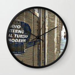 Barcelona digital street photography + Dreamscope Wall Clock