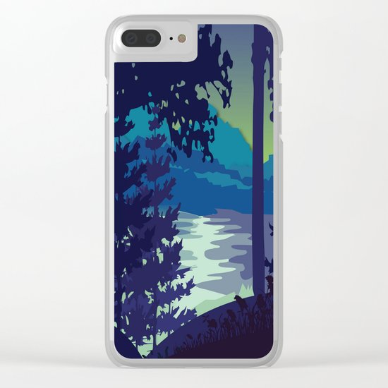 My Nature Collection No. 6 Clear iPhone Case